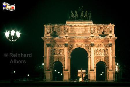 Paris - Arc de Triomphe du Carrousel. Dieser