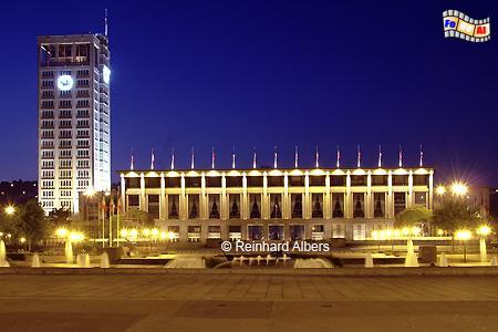 Normandie - Le Havre Rathaus, Normandie, Le Havre, Rathaus, Hôtel de ville, Auguste Perret