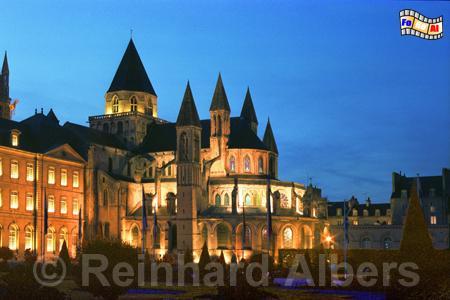 Caen in der Normandie Abbaye-aux-hommes, Normandie, Caen, Abbaye aux Hommes