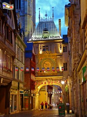 Normandie Rouen Gros-Horloge, Normandie, Rouen, Gros-Horloge