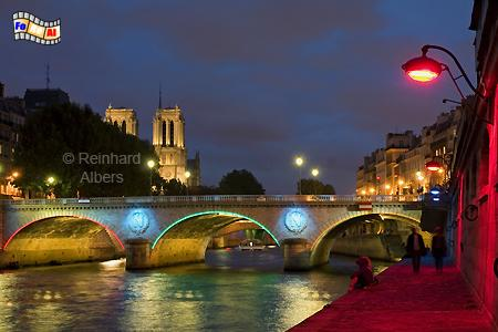 Paris Seine Notre Dame, Paris, Seine, Notre Dame, Reinhard, Albers, Foto, foreal