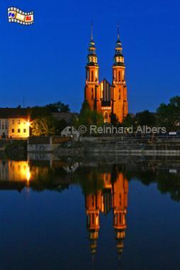 Opole (Oppeln) Kathedrale, Polen, Polska, Opole, Oppeln, Kathedrale, Oder, Reinhard, Albers, foreal, Foto