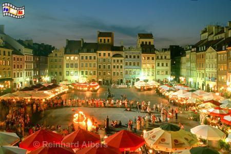 Warschau Alter Markt, Warschau, Warsaw, Warszawa, Altstadt, Foto, Reinhard, Albers, foreal
