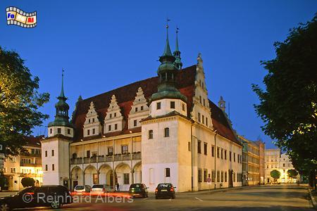 Brzeg (Brieg) - Rathaus, Polen, Brzeg, Brieg, Rathaus, Foto, foreal, Albers