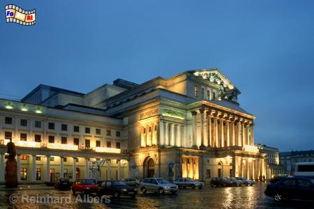 Warszawa (Warschau) Teatr Wielki,