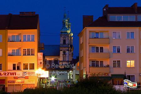 Nysa (Neiße), Polen, Neiße, Nysa, Albers, Foto, foreal,