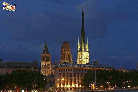 Rouen - Kathedrale, Normandie, Rouen, Kathedrale, Albers, Foto, foreal,