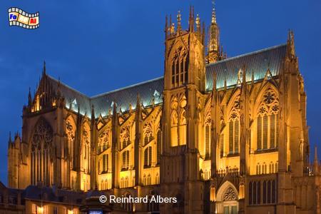 Metz Kathedrale, Metz, Lothringen, Kathedrale, Reinhard, Albers, Foto, foreal