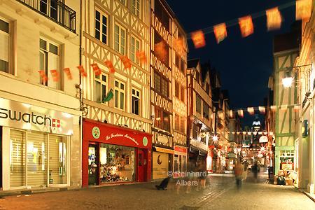 Rouen - Altstadt, Normandie, Altstadt, Albers, Foto, foreal,
