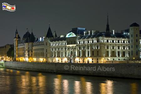 Paris - Conciergerie, Frankreich, Paris, Conciergerie, Albers, Foto, foreal,