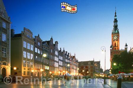 Gdańsk (Danzig) - Langer Markt, Polen, Danzig, Gdańsk, Langer Markt, Rechtstadt, Albers, Foto, foreal,