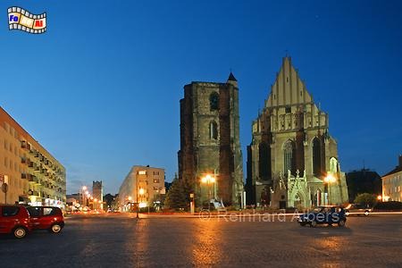 Nysa (Neiße) - Jakobs- und Agnesenkirche, Polen, Nysa, Neiße, Jakobskirche, Albers, Foto, foreal,