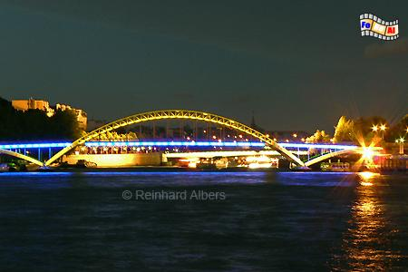 Paris - Seinebrücke, Frankreich, Paris, Seine, Brücke, Albers, Foto, foreal,