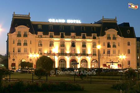 Grand Hotel in Cabourg (Normandie), Normandie, Cabourg, Grand Hotel, Albers, Foto, foreal,