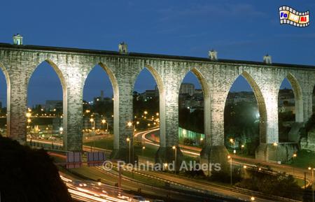 Lissabon - Aqueduto das Águas Livres aus dem 18. Jh. , Lissabon, Lissbon, Aquädukt, Alcantara, Albers, Foto, foreal,