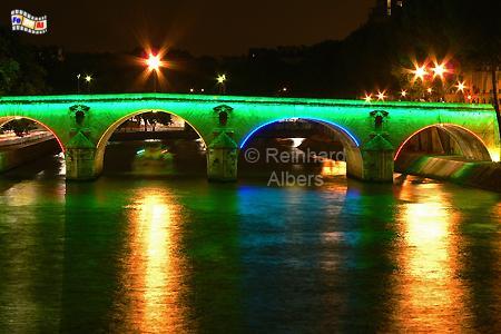 Paris Seinebrücke, Paris, Seine, Brücke