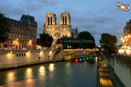 Paris, Seine, Notre Dame, Paris, Notre Dame, Seine