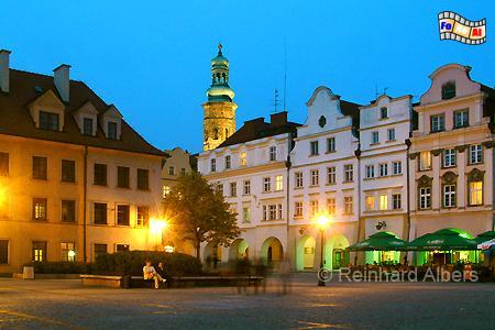 Marktplatz von Jelenia Góra (Hirschberg), Polen, Hirschberg, Jelenia Góra, Albers, Foto, foreal,