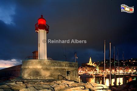 Menton an der Côte d'Azur, Côte, Azur, Menton, Leuchtturm, Albers, Foto, foreal,