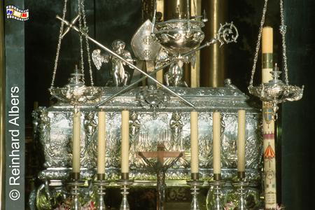 Sarkophag des Heiligen Stanislaus in der Wawel-Kathedrale., Polen, Polska, Fotos, Bilder, Krakau, Kraków, Wawel, Kathedrale, Stanislaus, Stanisław, Sarkophag