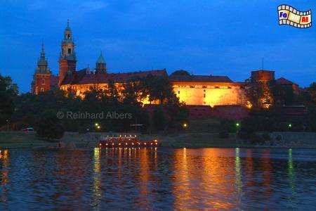 Auf dem Wawel residierten Jahrhunderte lang die polnischen Könige., Polen, Polska, Krakau, Kraków, Fotos, Bilder, Wawel, Schloss, Kathedrale