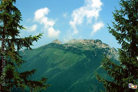 Der Gipfel des Giewont bei Zakopane in der Hohen Tatra., Polen, Polska, Bilder, Hohe Tatra, Giewont, Zakopane