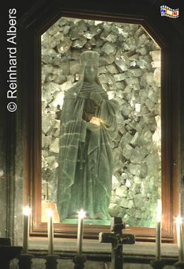 Figur der Hg. Kinga im Salzbergwerk von Wieliczka., Polen, Polska, Fotos, Bilder, Salzbergwerk, Wieliczka, Kopalnia Soli, Kinga