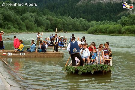 Floßfahrt auf dem Dunajec., Polen, Polska, Fotos, Bilder, Floßfahrt, Dunajec