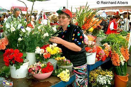 Wochenmarkt auf dem Rynek Kleparski, Polen, Polska, Krakau, Kraków, Rynek, Kleparski, Wochenmarkt, Markt