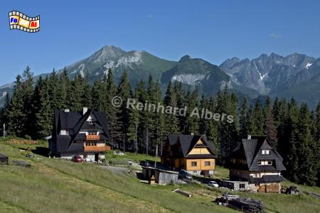 Berglandschaft der Hohen Tatra., Polen, Polska, Fotos, Bilder, Hohe Tatra, Berge