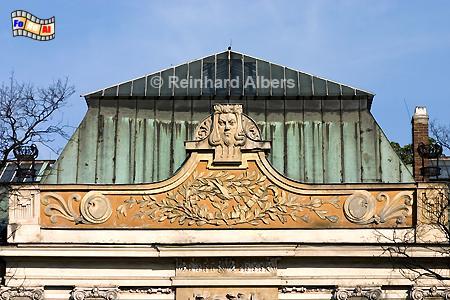 Pałac Sztuki - Kunstpalast im Jugendstil, Polen, Polska, Krakau, Kraków, Fotos, Bilder, Pałac, Sztuki, Jugendstil
