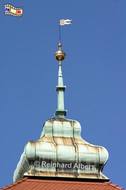 Turmspitze des Florianstors, Polen, Polska, Krakau, Kraków, Fotos, Bilder, Florianstor, Stadttor