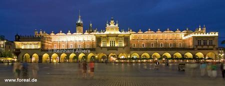Tuchhallen (Sukiennce) am dem Hauptmarkt (Rynek Głowny), Polen, Polska, Krakau, Kraków, Fotos, Bilder,  Tuchhhallen, Sukiennice, Hauptmarkt, Rynek, Głowny
