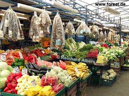 Markt auf dem Rynek Kleparski, Polen, Polska, Krakau, Kraków, Fotos, Bilder, Wochenmarkt, Markt, Rynek, Kleparski