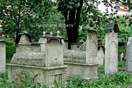 Jüdischer Friedhof im Stadtteil Kazimierz., Polen, Polska, Krakau, Kraków, Fotos, Bilder, Kazimierz, Friedhuf, Remuh