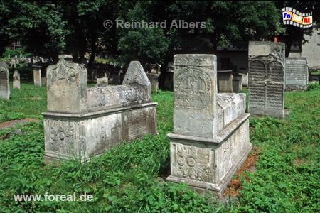 Jüdischer Friedhof im Stadtteil Kazimierz, Polen, Polska, Krakau, Kraków, Fotos, Bilder, Kazimierz, Friedhuf, Remuh