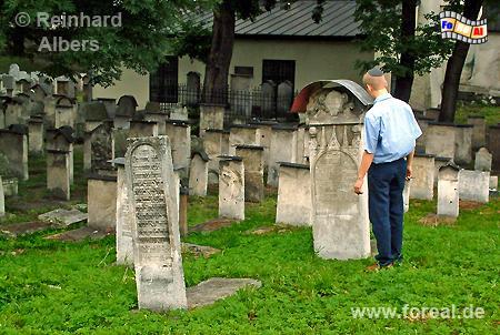 Kazimierz - Jüdischer Friedhof Remuh, Polen, Polska, Krakau, Kraków, Fotos, Bilder, Kazimierz, Friedhuf, Remuh