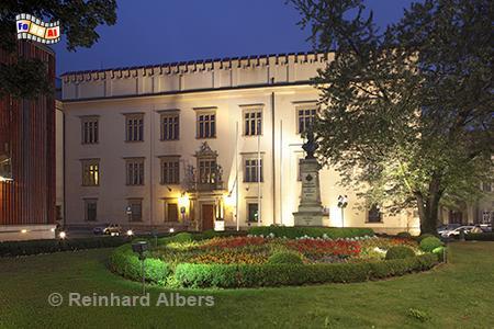 Haus der Stadtverwaltung, Polska, Polen, Krakau, Kraków, Stadtverwaltung, Foto, foreal, Albers,