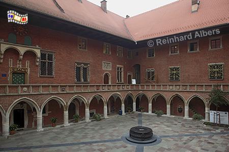 Das Collegium Maius ist der älteste Teil der 1364 gegründeten Jagiellonen-Universität. , Polen, Polska, Krakau, Kraków, Universität, Collegium Maius, Jagiellonen