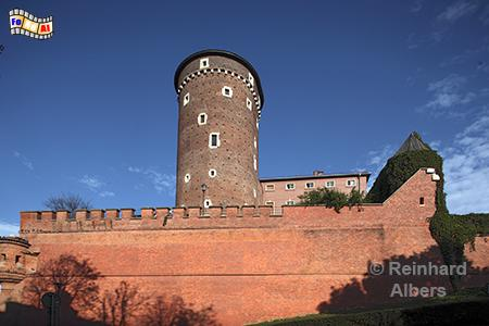 Wawel Festungsturm, Polen, Polska, Fotos, Bilder, Krakau, Kraków, Wawel, Festungsturm, Albers, foreal, Foto,