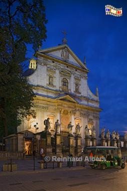 Peter- und Paulkirche, Polen, Krakau, Foto, Kirche, Peter, Paul, Albers, foreal,