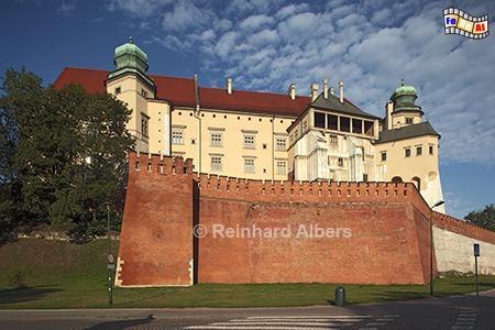 Wawelschloss Rückseite, Polen, Polska, Fotos, Bilder, Krakau, Kraków, Wawel, Schloss, Rückseite, Albers, foreal,