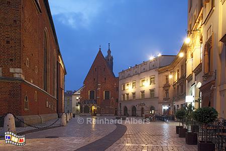 Barbarakirche am Marienplatz, Polen, Polska, Krakau, Kraków, Bilder, Fotos, Barbarakirche, Marienplatz, foreal, Albers,