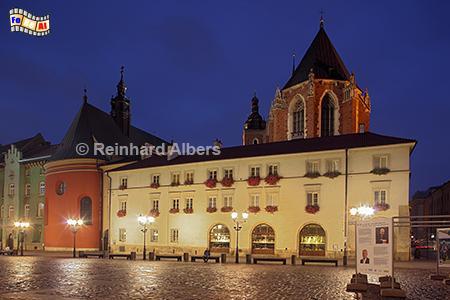 Mały Rynek (Kleiner Markt), Polen, Polska, Krakau, Kraków, Bilder, Fotos, Marienkirche, Mały, Rynek, foreal, Albers,