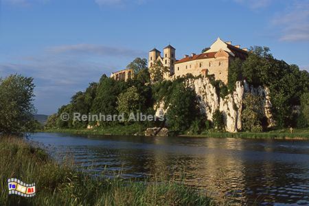 Kloster Tyniec bei Krakau an der Weichsel, Polen, Polska, Krakau, Kloster, Tyniec, Albers, Foto, foreal,