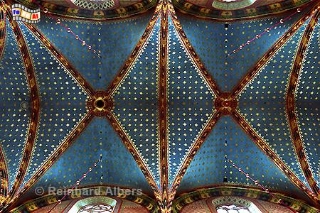 Sternegewölbe in der Krakauer Marienkirche, Polen, Polska, Fotos, Bilder, Krakau, Kraków, Marienkirche, Kościół Mariacki, foreal, Albers,
