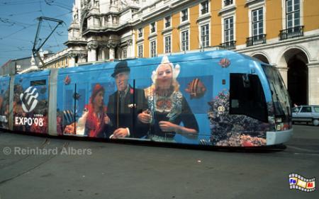 Moderne Straßenbahn, Lissabon, Straßenbahn