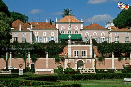 Palácio de Belém, heute Sitz des Staatspräsidenten., Lissabon, Belém, Palast, Palácio de Belém