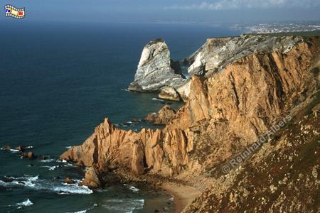 Cabo da Roca - 140 m hohe Steilküste, Cabo, Roca, Steilküste