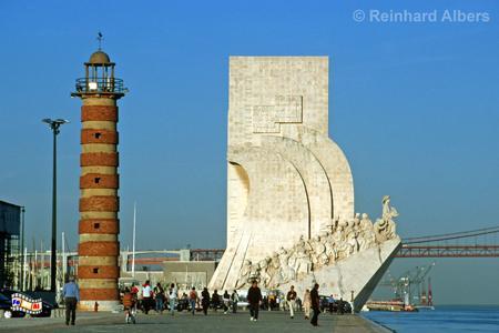 Denkmal der Entdeckungen (Padrão dos Descobrimentos). 1960 zum 500. Todestag von Heinrich dem Seefahrer vollendet., Lissabon, Belém, Denkmal, Entdeckungen